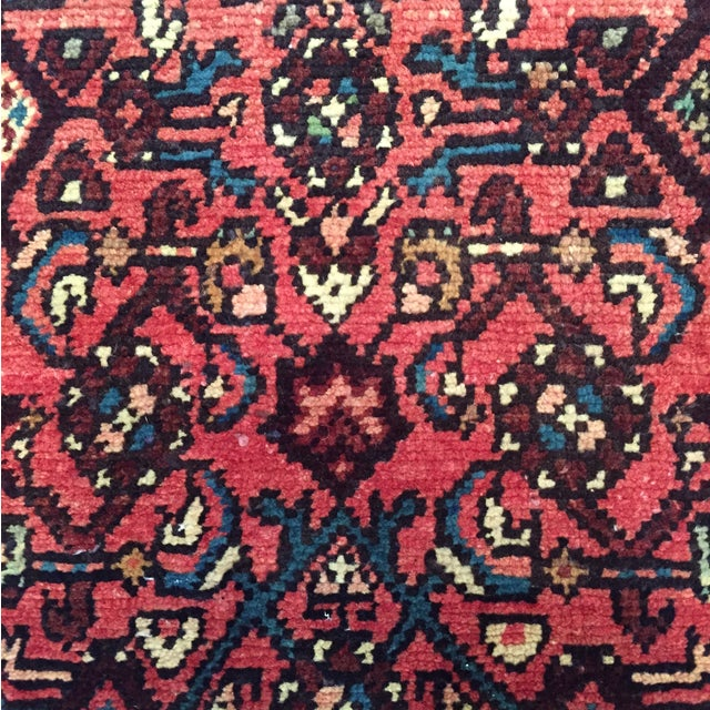 "Hamadan Hand Made Persian Rug - 2'5"" x 3'2"" - Image 5 of 9"