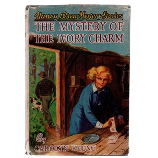 "1936 ""Nancy Drew: The Mystery of the Ivory Charm"" Collectible Book For Sale"