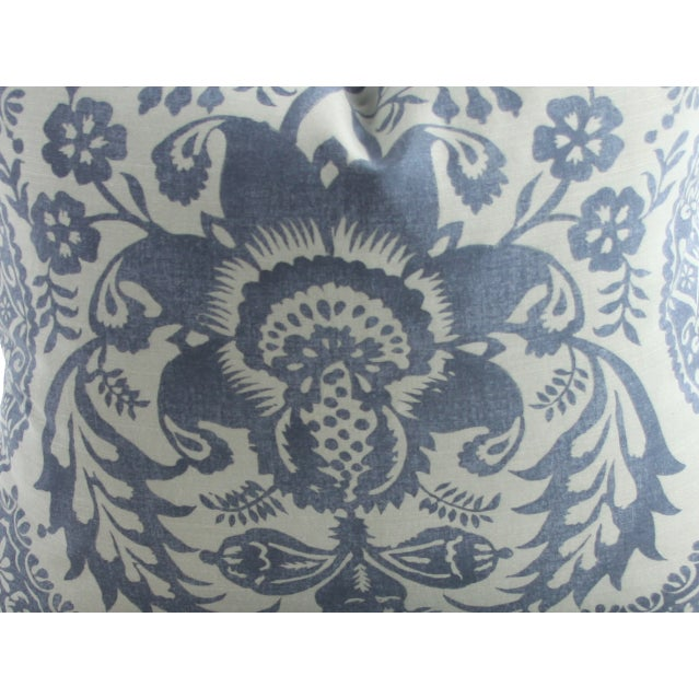 Damask Print Pillows - a Pair - Image 2 of 2