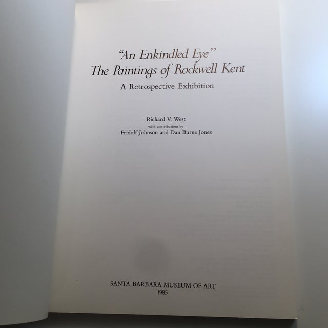 Contemporary 1985 The Paintings of Rockwell Kent Book For Sale - Image 3 of 11