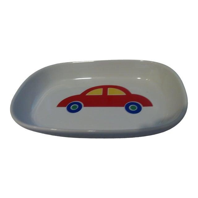 1980s Vintage Marimekko Red Car Tray For Sale