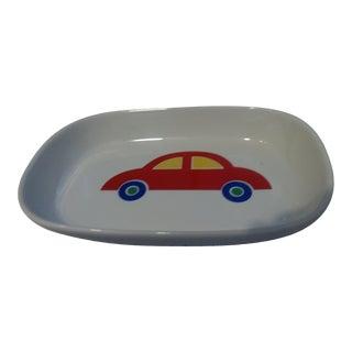1980s Vintage Unused Marimekko Red Car Tray For Sale