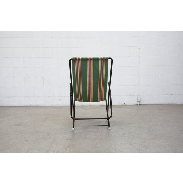 Vintage Pilastro Style Beach Sling Chair - Image 5 of 10