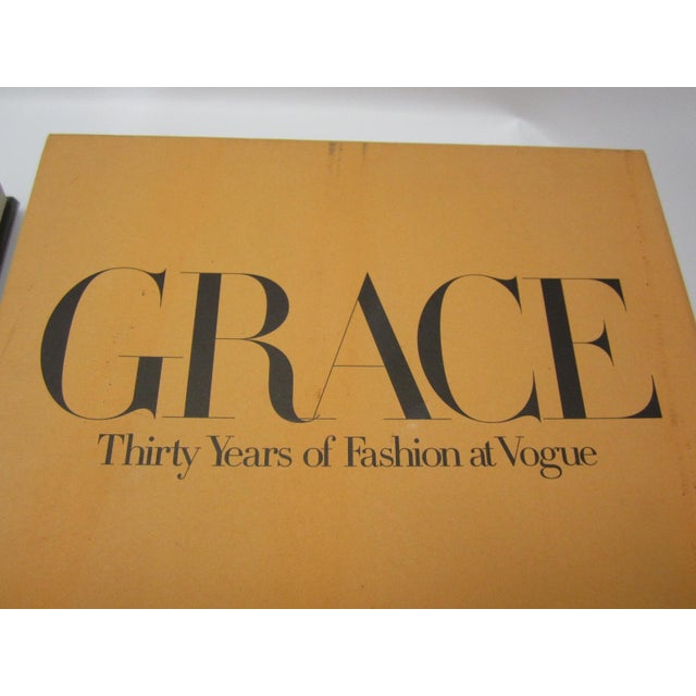 Orange Grace, Thirty Years of Fashion at Vogue, First Edition Book in Original Box Grace Coddington For Sale - Image 8 of 9