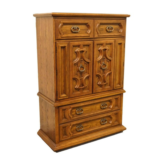 "Thomasville Furniture Levitz Collection Spanish revival Mediterranean 41"" door chest/armoire. We specialize in high end..."