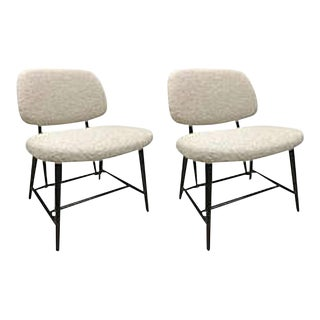 Alf Svensson Pair of Large Comfortable Chair Fully Restored For Sale