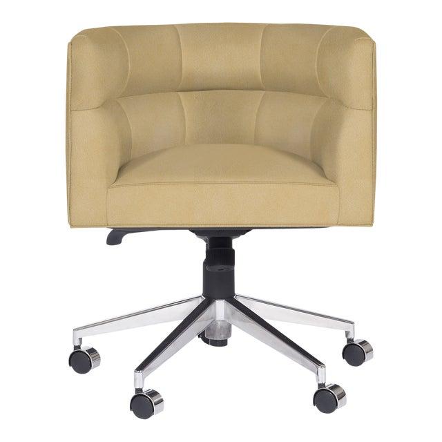 Casa Cosima Perry Desk Chair, Gramercy Dijon For Sale