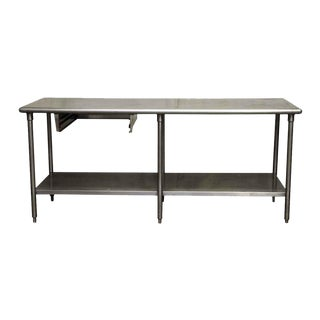 Commercial Stainless Steel Table For Sale