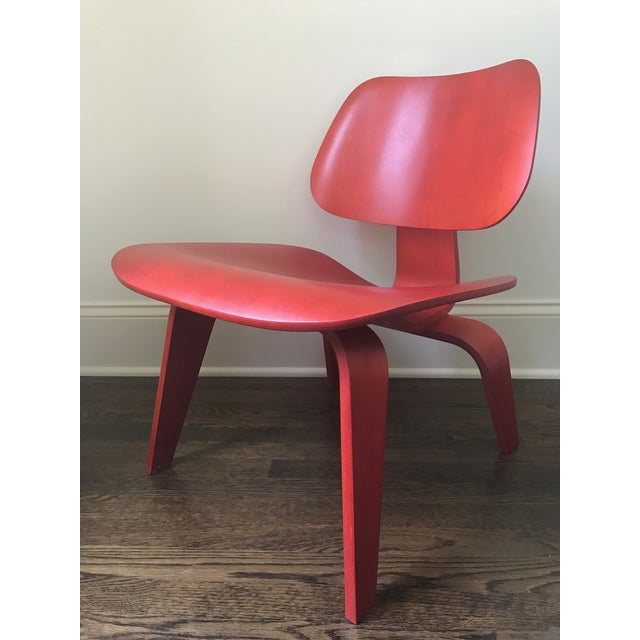 Eames LCW Red Chair - Image 2 of 8