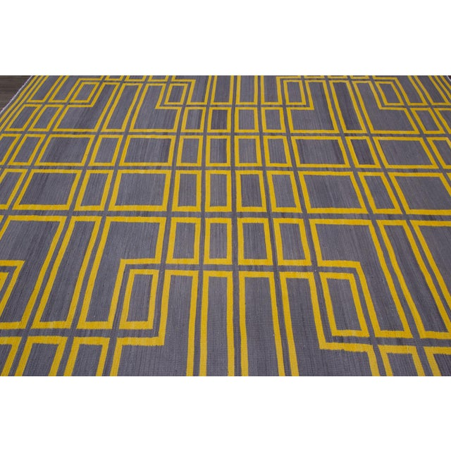 21st Century Modern Kilim Rug For Sale In New York - Image 6 of 10