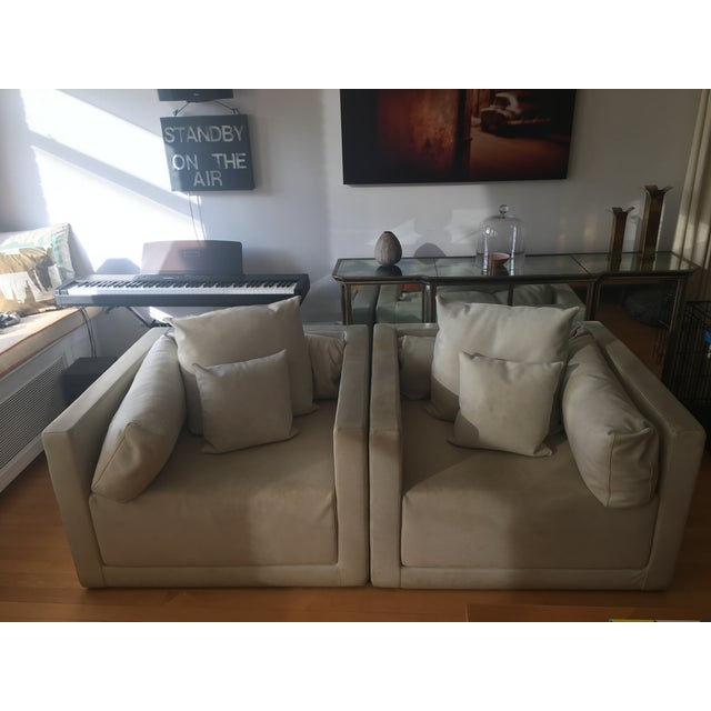 Armani Casa Sydney Chairs - a Pair For Sale - Image 13 of 13