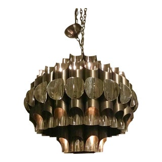 Global Views Mod Pipe Chandelier