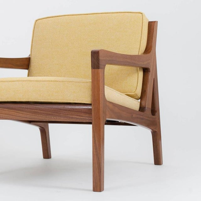 Black Asa Pingree Pilar Lounge Chair in Ebonized Oak For Sale - Image 8 of 11