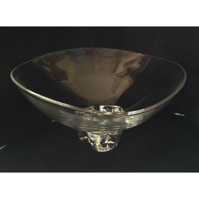 dbcc243a2c6 Steuben Crystal Trillium Bowl For Sale - Image 5 of 5