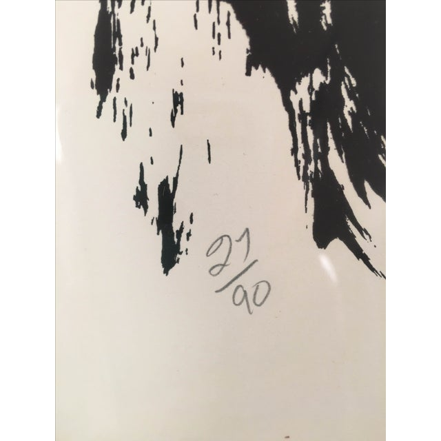 Vintage Abstract Lithograph - Image 6 of 6