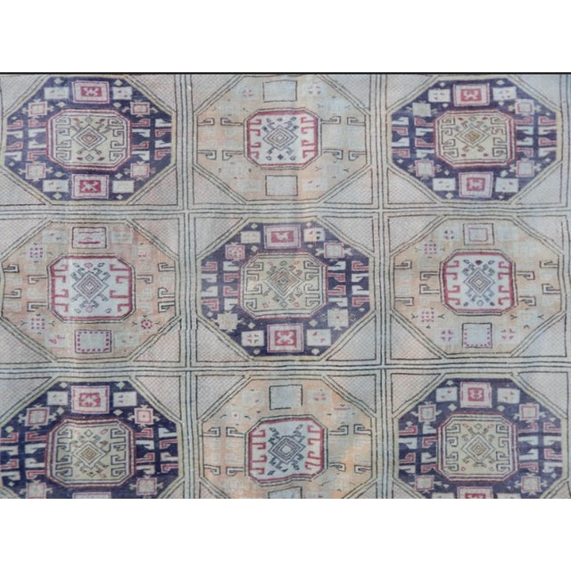 Textile Vintage Kayseri Rug - 6'4'' X 9'6'' For Sale - Image 7 of 13