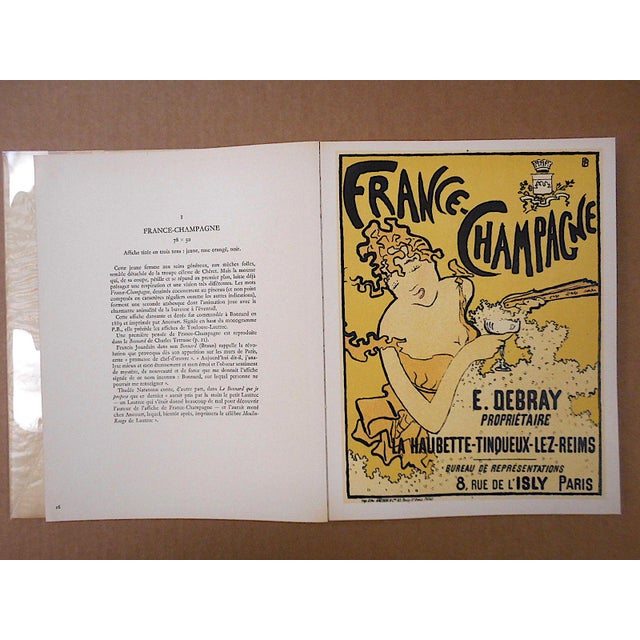 """1950s Vintage Mid Century Illustrated Book-""""Bonnard Lithographie""""-First Edition-Profusely Illustrated For Sale - Image 5 of 12"""