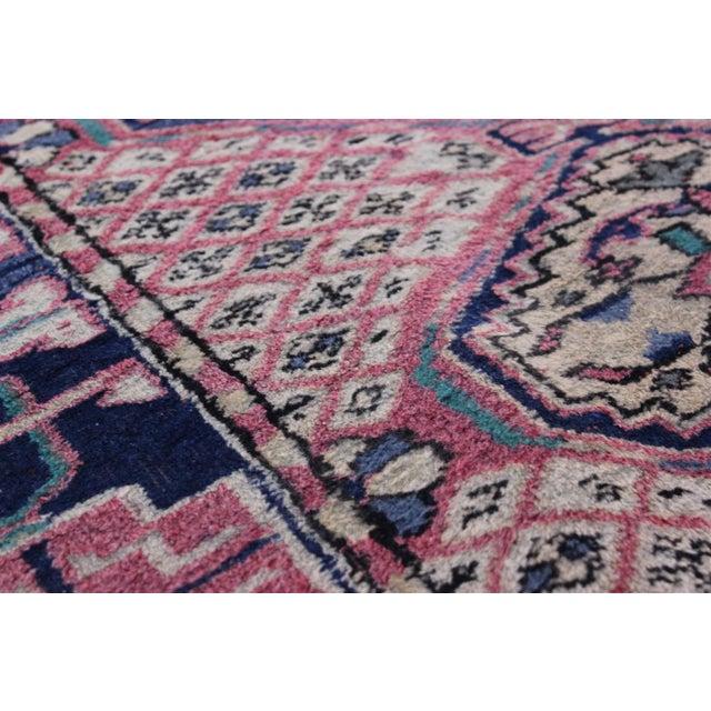 Textile Vintage Turkish Oushak Rug - 3′1″ × 6′5″ For Sale - Image 7 of 10