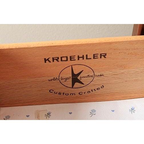 Kroehler Mid-Century Modern Writing Desk - Image 4 of 7