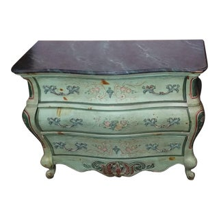 Louis XV Style Painted Chest of Drawers For Sale