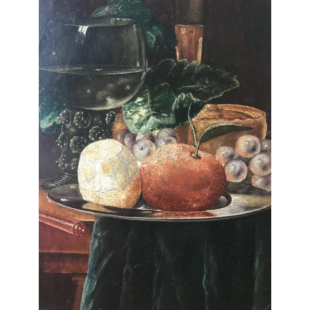 19th Century Still Life Painting After Pieter Claesz (1597-1660) Dutch. This outstanding 19th century oil painting on...
