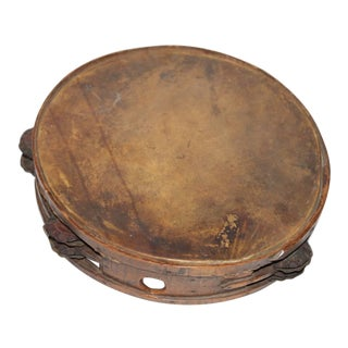 Early 19Thc American Tambourine From New England For Sale