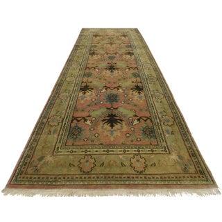 RugsinDallas Persian Style Wool Runner Rug - 4′ × 12′1″ For Sale