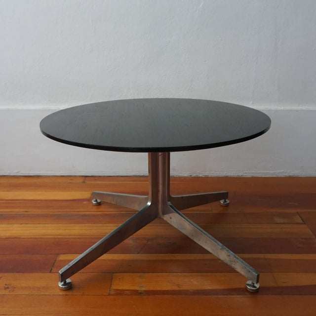1950s Ward Bennett Column X Table for Lehigh Furniture Company For Sale - Image 5 of 7