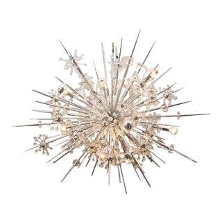 Austrian Crystal Starburst Sputnik For Sale