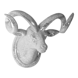 Julian Bull Head in Chrome For Sale