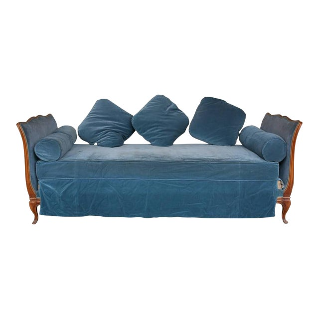 French Louis XV Style Daybed - Image 1 of 9