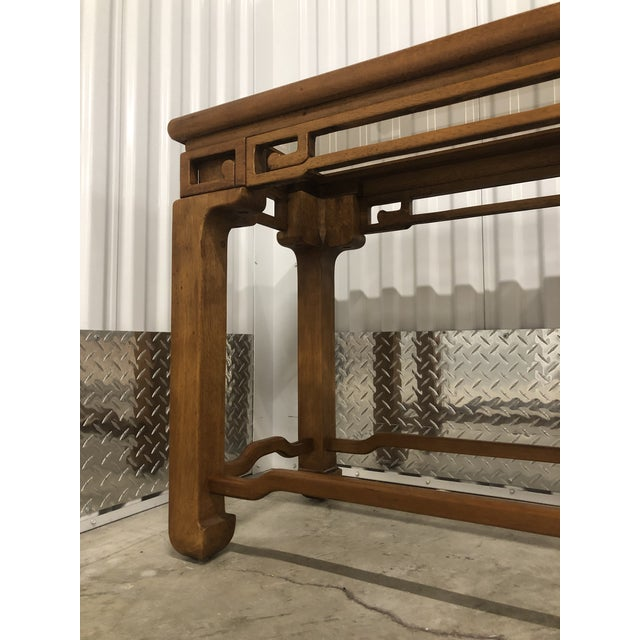 1970s Chinese Style Sofa Console Tables - a Pair For Sale In Chicago - Image 6 of 12