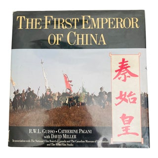 1989 The First Emperor of China First Edition Book For Sale