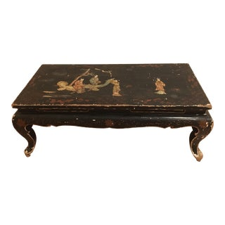 1980s Vintage Chinoiserie Coffee Table