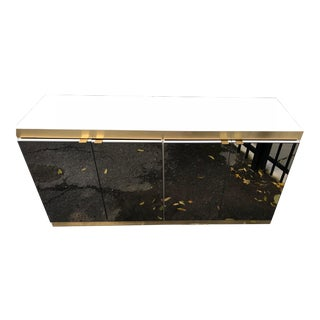 ****** Ello Furniture Mirrored Credenza For Sale