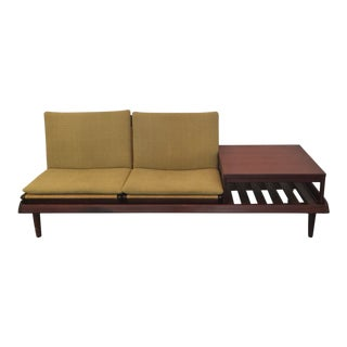 Hans Olsen Single Modular Sofa with Side Table for Bramin