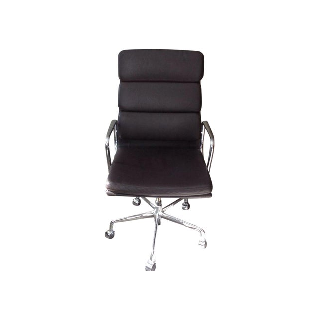 Eames Inspired Soft Pad High Back Chair - Image 1 of 6