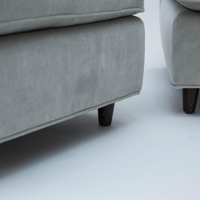 Mid-Century Slipper Chairs - A Pair - Image 5 of 10