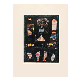"1955 Paul Klee ""Puppet Show"", First Edition Lithograph For Sale"