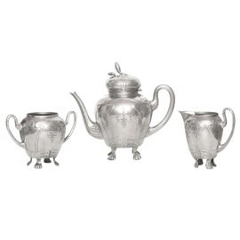 Image of Pewter Coffee Sets