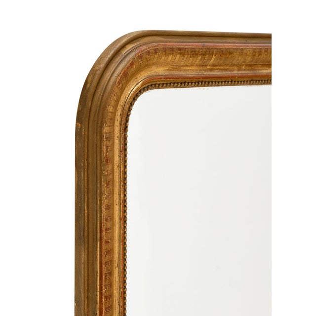 Mid 19th Century Louis Philippe Period Gold Leaf Mirror For Sale - Image 5 of 10
