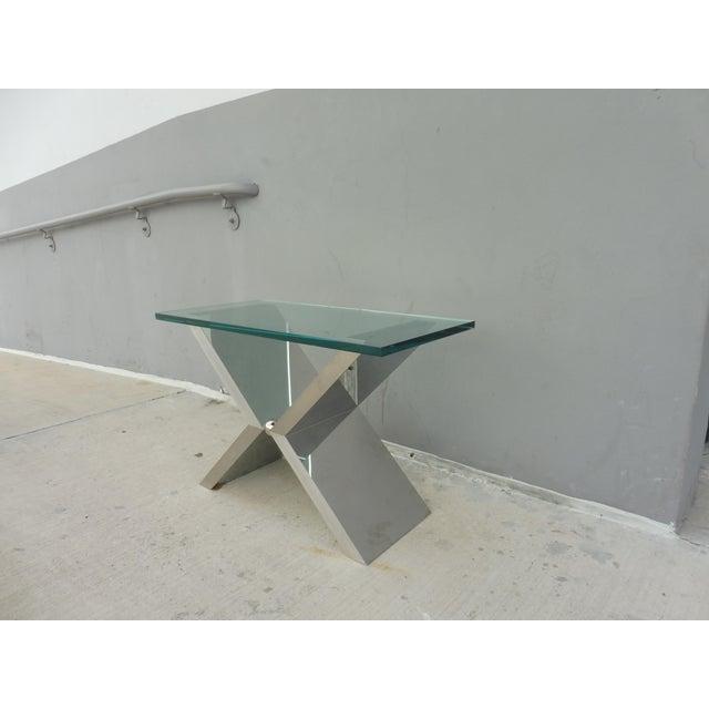 Contemporary Contemporary J. Robert Scott High End Custom Made Exxus Table For Sale - Image 3 of 10