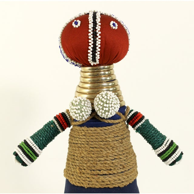 African Folk Art Ceremonial Doll - Image 6 of 6