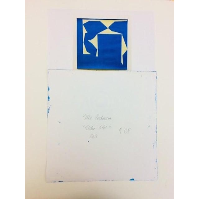 "Ulla Pedersen Ulla Pedersen ""Cut-Up Paper I.14"", Painting For Sale - Image 4 of 5"