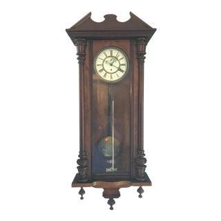 1855 Gustav Becker Wall Clock