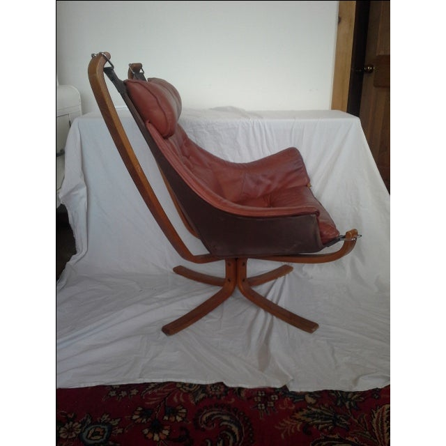 Sigurd Russell High Back Falcon Chair - Image 3 of 6