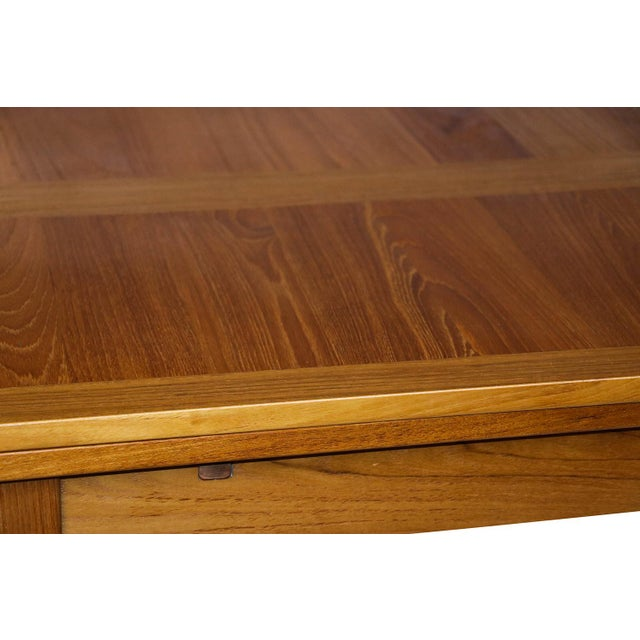 Danish Modern Teak Extendable Dining Table Vejle Stole Møbelfabrik For Sale - Image 5 of 11