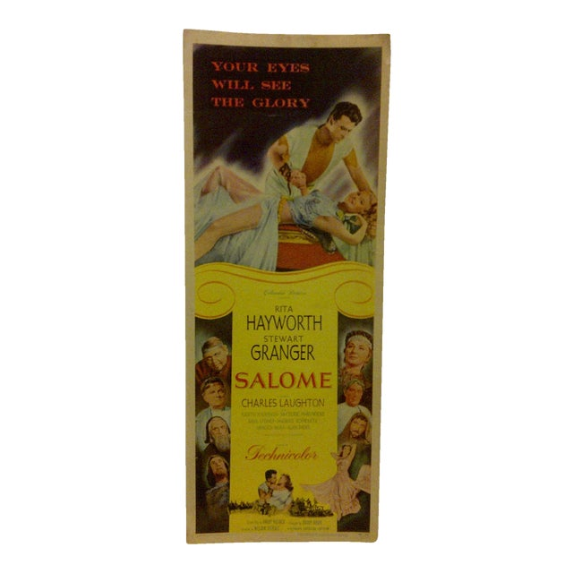 "Vintage Movie Poster ""Salome"" - Image 1 of 5"