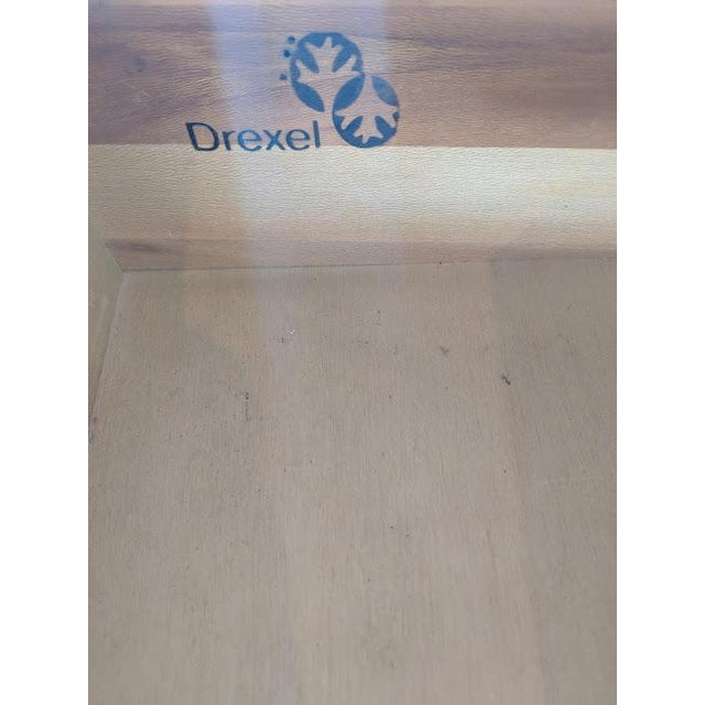 Metal 1970s Campaign Drexel Side Tables - a Pair For Sale - Image 7 of 8