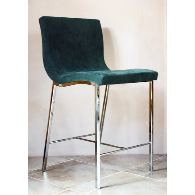 Modern Ligne Roset Counter Stools - a Pair For Sale In Santa Fe - Image 6 of 10